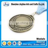 zinc alloy wholesale custom printing race award medal