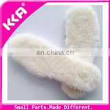 Warm wool shoe insoles/Wool foot cushions on sale