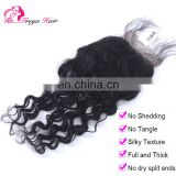 Wholesale Factory Price Brazilian natural wave human hair closure