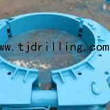 Hydraulic Retaining Clamp leffer Type 1200OD Used for Double Wall Casing Deep Foundation Piling Work