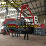 Large Capacity Jet Suction Dredger 30kw Genset Power