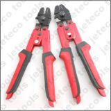 steel wire rope crimper tool, for crimping aluminum copper ferrules and stainless steel tube fittings