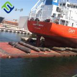 Barge docking launching marine rubber airbag