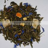 Treasure Island - fresh, light blend of Sencha, Gunpowder green loose tea