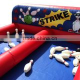 Fun kids inflatable bowling set inflatable games for outdoors