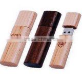 Creative Custom Logo USB Flash Drive Wood Pen Drive, wooden Usb with custom package USB Memory stick