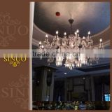 High quality luxury Classical Italy style crystal acrylic chandelier glass light                                                                         Quality Choice