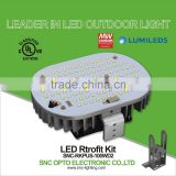SNC UL cUL LUMILEDS LED Retrofit Kit 100W for Street Shoeboxes Wall Packs Canopy high bay