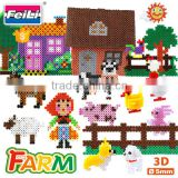 factory wholesale creative toys 12000pcs perler beads diy iron beads for kids