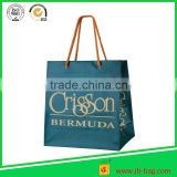 Manufacture and exporter new design gift paper bag with matt lamination for shopping with competitive price