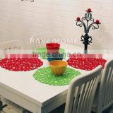 Colorful and Flower shape cupmat