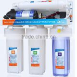 2016 China best cheaper price 6 stage alkaline water filter system with uv light
