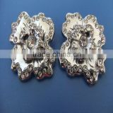 Compet Produce Fashion Diy Bracelet Big Slide Flower Charms with Rhinestones