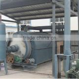 Hot selling oil carbon black extracting machine waste tire pyrolysis to oil machine with CE