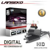 Car Accessories HID Lighting Super Vision Powerful 75W Ac Hid Xenon Kit 3000K~30000K Hid Conversion Kit Xenon Hid Kit