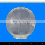 Acrylic sphere lamp cover, plastic pendant light shell, garden lampshade frames