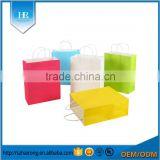 Wholesale Diretct Factory Different Color Paper Bag With Handle                                                                         Quality Choice