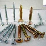 Stainless steel galvanized different types of dry wall screw