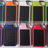 Free Sample Solar Battery Charger Portable Solar Charger 4050mAh Key Chain Solar Power Bank External Battery Pack