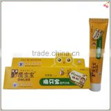 propolis fluoride free toothpaste with calcium for child