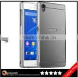 Keno Ultra Slim Separable Metallic Aluminum Alloy Bumper Frame Cover and Flexible PC Back Panel Case for Sony Xperia Z5