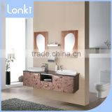 Stylish hot selling double basin bathroom furniture,used hotel furniture for sale                                                                         Quality Choice