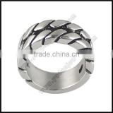 Simple Fashion Stainless Steel Band Ring