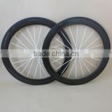 23mm/25mm wide Carbon Wheels 50mm clincher ruedas carbono titanium wire 700C