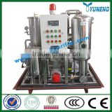KYJ Fire-Resistant Oil / EHC hydraulic Oil Purification Machine ( Stainless Steel, Vacuum Evaporation)