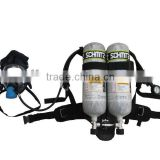 2 Cylinders Air breathing apparatus demand valve