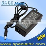 NEW Laptop Charger 19.5V 3.33A 65W For HP Pavilion 15-b000 Sleekbook Ultrabook TouchSmart