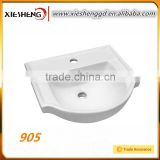 Hot-sale Newest design sanitary ware accessoies modern cabinet basin above counter mounted