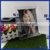 Manufacturer supplier crystal clear acrylic photo frame with magnet / hot sale acrylic photo block