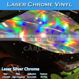 CARLIKE Colorful Laser Chrome Holographic Rainbow Vinyl Sticker For Auto Wrap