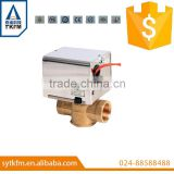 SR201 Two-way AC24V electric water valve for HVAC 1/2'' 3/4'' 1''