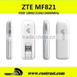 Unlocked ZTE MF821 100Mbps 4G LTE FDD 1800/2100/2600MHz Modem Wireless USB Stick