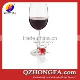 personalized cheap silicone rubber wine glass charms                                                                         Quality Choice