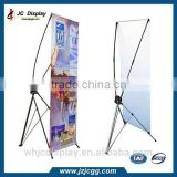 Protable X Banner Stand Used for Indoor or Outdoor Advertising