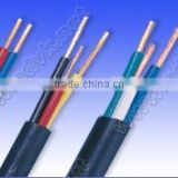 Rated Voltage 300/500V Al Conductor PVC Insulated and Sheathed Flat Cable