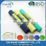 PVC foam fabric anti slip mesh mat