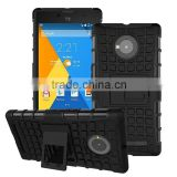Hybrid 8 colors 2 In 1 TPU Stand Impact Hard Case For Micromax Yu Yuphoria ShockProof Cover Phone Cases for india market