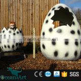 OA6102 Jurassic Park Game Dinosaur Egg Take Picture With