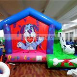 Dog kids inflatable outdoor games bounce house                                                                                                         Supplier's Choice