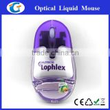 2.4g wireless liquid mouse with rechargeable cable