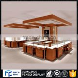 Hot factory price wooden glass showroom jewellery shop counter design