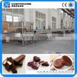 QKT chocolate coating line small manufacturing machines