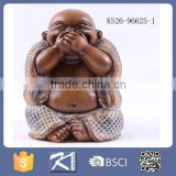 2016 new design decorative resin happy charm buddha for sale