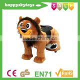HI CE Hot sale plush electric coin operated horse toys for sale