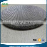 Copper sintered metal wire mesh for chemical fiber membrane filter