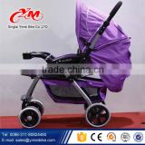 European type aluminum tube baby stroller baby carriage / foldable four big wheels baby stroller with carraige price                                                                         Quality Choice